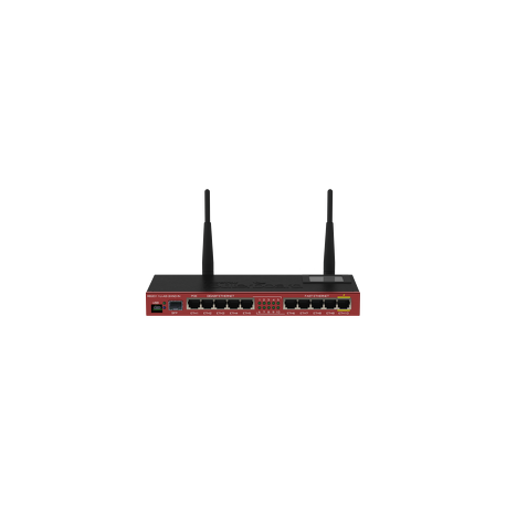 Mikrotik RB2011UiAS-2HnD-IN Low cost multi port device for indoor use