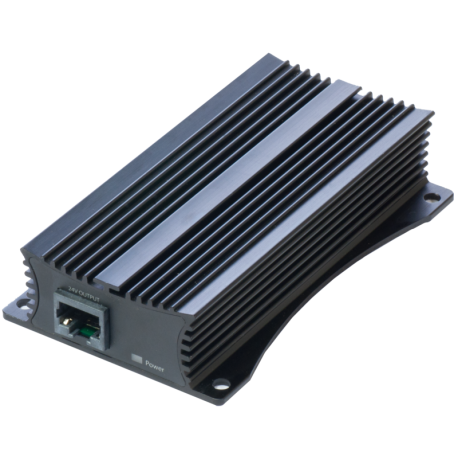 Mikrotik 48 to 24V PoE Converter - This device lets you use any 48V PoE source to power RouterBOARD devices.